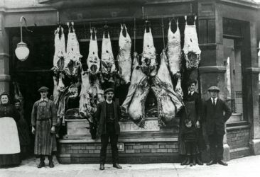 E Patterson butchers in James St